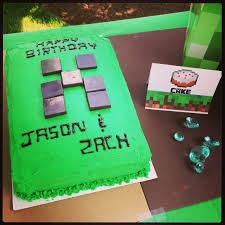 12 amazing minecraft birthday cakes catch my party