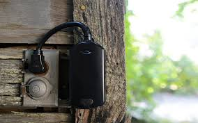 ge outdoor lighting control perfect for springtime summertime and anytime this ge outdoor