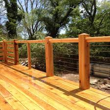 wire cable deck railing diy for american hwy how to install