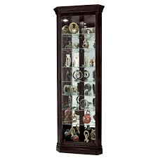 Mahogany Display Cabinets With Glass Doors by Furniture Captivating Design Of Corner Curio Cabinet Ikea For