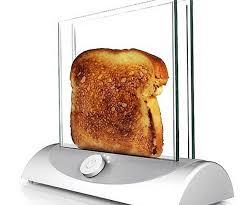 Toaster Poacher Glass Toaster