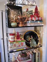 How To Decorate A Bakers Rack Opulent Cottage Holiday