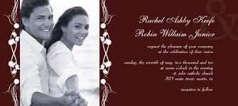 wedding invitations design online create online wedding invitations rectangle landscape burgundy