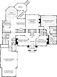 colonial style house plan 5 beds 5 50 baths 5432 sq ft plan 453 27