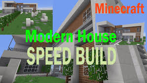 minecraft modern house speed build and tutorial tips youtube