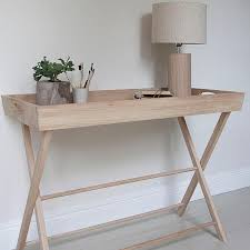 large hambledon oak butlers console table side tables for the