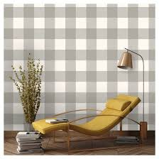 Peal And Stick Wall Paper Devine Color Buffalo Plaid Peel U0026 Stick Wallpaper Mirage And