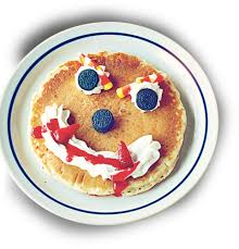 ihop black friday free scary face pancake at ihop for kiddos on halloween
