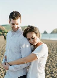 rodeo beach marin headlands engagement session