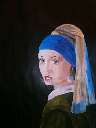 painting girl with a pearl earring 273 best girl pearl earring images on pearl earrings