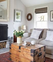 Chest Coffee Table Small Living Room Decorating Ideas Homedecor Guide
