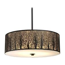 oversized drum pendant light drum shade light on extra large drum