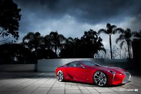 2016 lexus lf lc coupe lexus lf lc concept red u2013 five axis