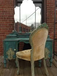 Furniture Victorian Makeup Vanity Vanity by A Vintage Vanity Makeup Vanity Hand Painted Vanity Distressed
