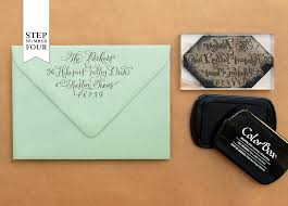 save the date envelopes diy tutorial vintage floral border save the date
