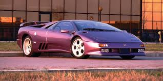 lamborghini purple remember how pitifully ugly the lamborghini diablo u0027s airbags were