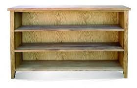 Long Low Bookshelf Windsor Long Low Bookcase By Telnita Direct Homeware Oak