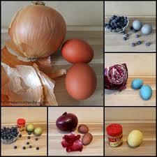 homemade natural easter egg dyes hometalk