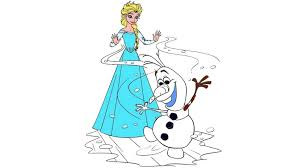 coloring elsa coloring book maxresdefault frozen page and olaf