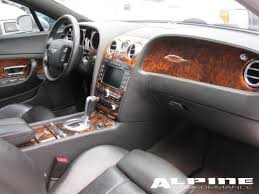 bentley flying spur 2007 original bentley gt black interior seats dashboard door panels