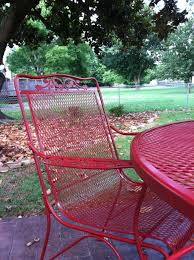 Mesh Wrought Iron Patio Furniture by Wrought Iron Patio Table How To Restore Wrought Iron Patio