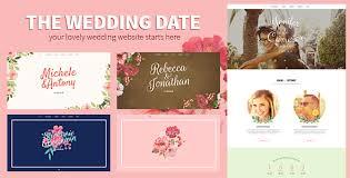 Wedding Site Html Wedding Website Templates From Themeforest