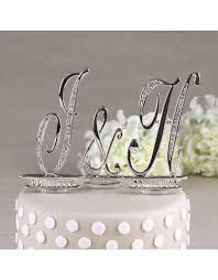 cake topper letters monogram wedding cake toppers advantagebridal