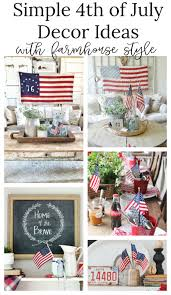 4th Of July Home Decor by 4th Of July Decor Ideas With Farmhouse Style