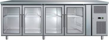 Glass Door Bar Fridge For Sale by Underbench Display Chiller 553l With Led
