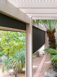 Roll Up Patio Screen by Fortress Outdoor Solar Shades For High Winds North Solar Screen