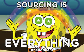 No One Cares Meme Spongebob - why sourcing is so important hello talent candidate