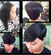 27 piece black hair style go short without cutting your hair 27 pieces short
