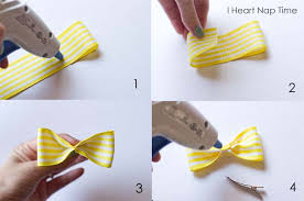 ribbon hair bow simple hair bow tutorial i heart nap time