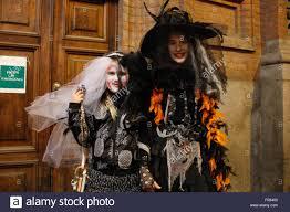 turin italy 31st oct 2015 girls costume
