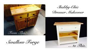 How To Make Furniture Shabby Chic by Furniture Upcycling Turning An Old Dresser Into A Shabby Chic