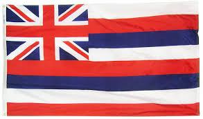 Image Of Hawaiian Flag Amazon Com Hawaii State Flag 3x5 Ft Nylon Solarguard Nyl Glo