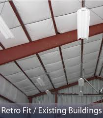 Insulation For Pole Barn Steel Building Insulation Systems For Prefab Steel Buildings