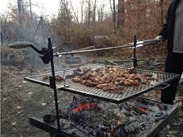 Grill Firepit The Original Rebelpit Pit Grill Rotisserie Spit