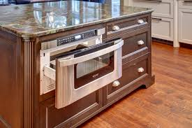 kitchen island with microwave drawer cool microwave drawer technique seattle traditional 24 warming