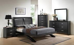 crown mark b4380 black wood bedroom furniture set ebay
