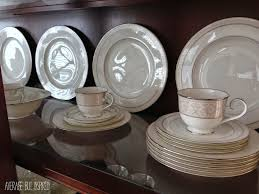 Display Dishes In China Cabinet Tips On How To Arrange A China Cabinet Average But Inspired