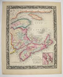 wedding gift amount canada 417 best antique canada maps images on