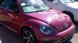 bug volkswagen 2017 2017 volkswagen pink beetle convertible pinkbeetle youtube