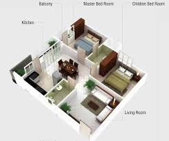 2 Bhk Home Design Layout Incredible Design Ideas 1200 Square Foot House Plans Bangalore 6