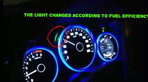 honda city light changes according to fuel efficency youtube