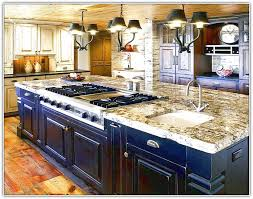 kitchen islands with cooktop kitchen island with cooktop and prep sink home design ideas