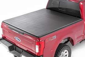 Ford Raptor Bed Cover - soft tri fold bed covers tonneau covers rough country