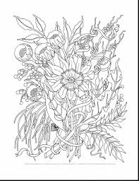 Hard Flower Coloring Pages - impressive hard coloring pages flowers adults with free printable