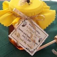 honey favors honey wedding favors honey favors personalized honey jars