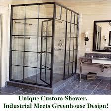 industrial bathroom ideas bathroom industrial meets greenhouse honest home improvement ideas